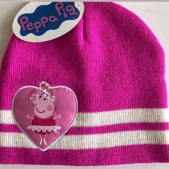 fc98cca1db456 NWT PEPPA PIG KIDS BEANIE HAT